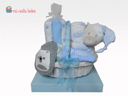 Cesta de pañales para bebes personalizable