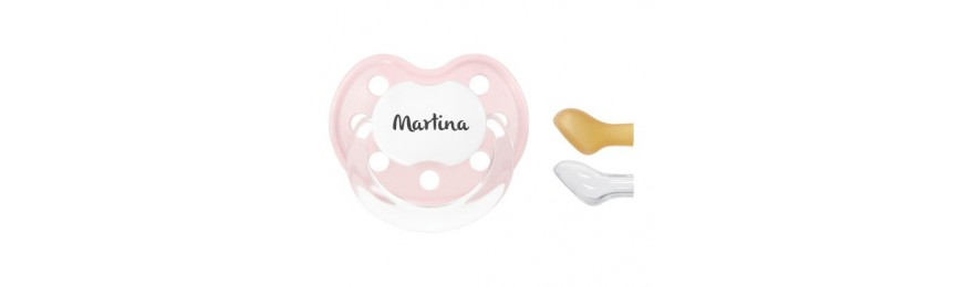 Chupetes personalizables